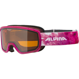Alpina Scarabeo S DH Lunettes de protection, translucent pink/orange